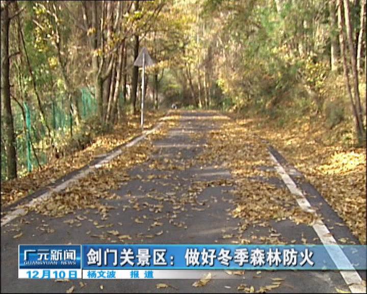 剑门关景区:做好冬季森林防火