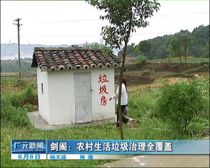 农村生活垃圾治理全覆盖